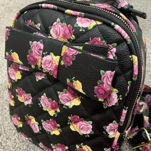 Betsey Johnson Mini Backpack Purse